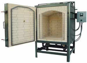 Front Loading Gas Kilns