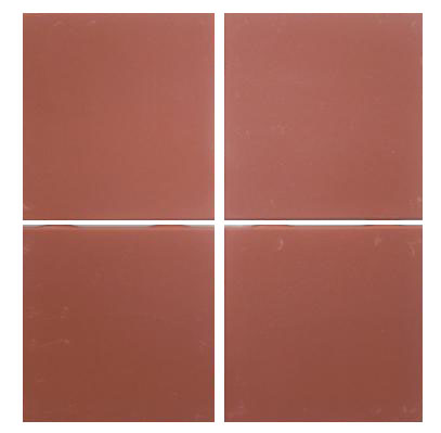 Sima 6 x6 square red quarry low fire bisque tile Fired tiles