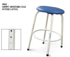 Shimpo Adjustable Potter S Stool